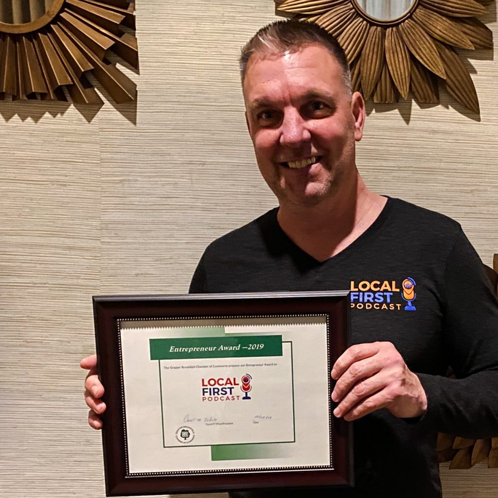 Local First Podcast Receives Award